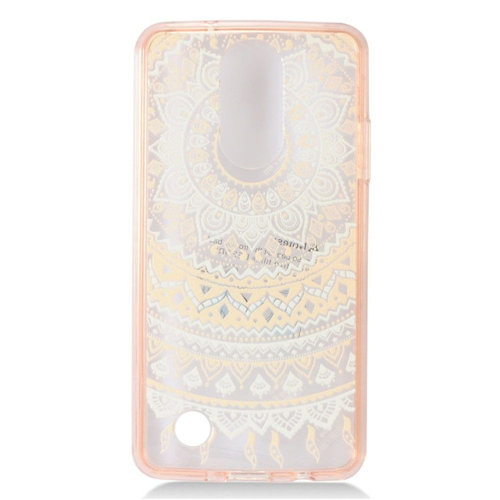 Insten Sunflower Hard Case For LG Aristo/Fortune/K4 (2017)/K8 (2017)/LV3/Phoenix 3, Light Pink
