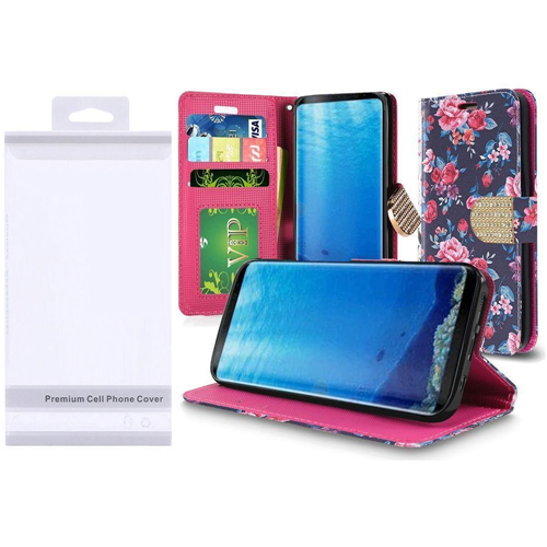 Insten Wallet Case for Samsung Galaxy S8 - Multicolor