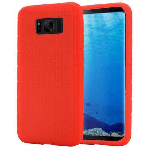 Insten Rugged Rubber Case For Samsung Galaxy S8, Red