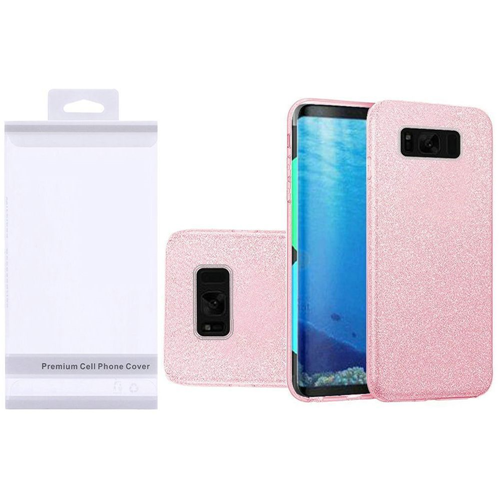 Insten Fitted Soft Shell Case for Samsung Galaxy S8 - Pink