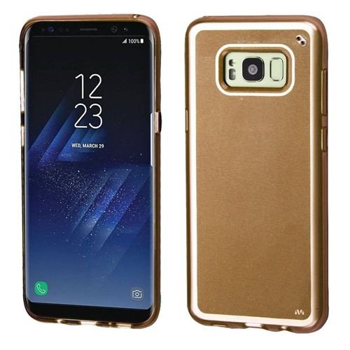 Insten TPU Cover Case For Samsung Galaxy S8, Gold