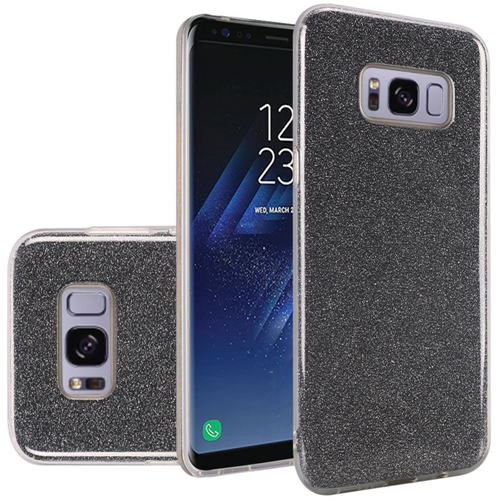 Insten Fitted Soft Shell Case for Samsung Galaxy S8 Plus - Smoke