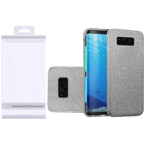 Insten Hard Glitter TPU Case For Samsung Galaxy S8, Smoke