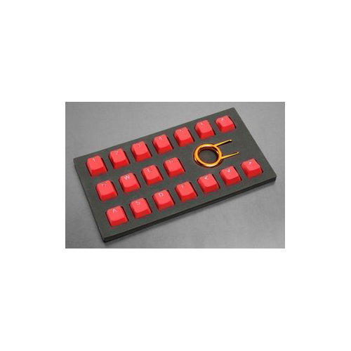 Tai-Hao Rubber Gaming Keycap Set - Red
