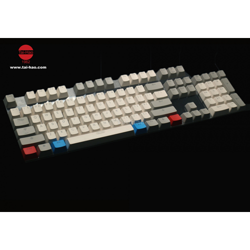 Tai-Hao Caoutchouc Cherry MX commutateurs Blackit Keycaps