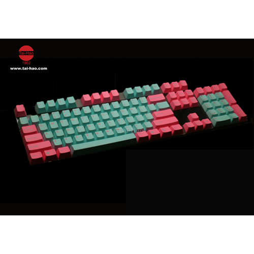 Tai-Hao Rubber PBT Double Shot Keycaps for Cherry MX Keyboard