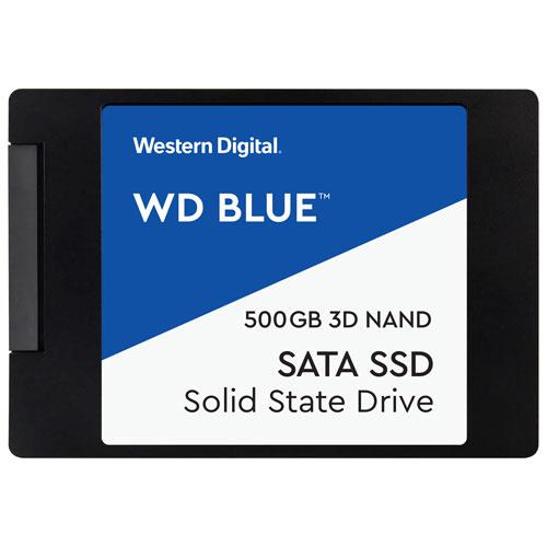 WD Blue 500GB 3D NAND SATA III Internal Solid State Drive