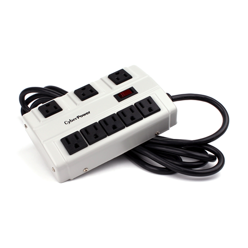 Cyberpower Metal Strip Surge Protector (B6010MGY)