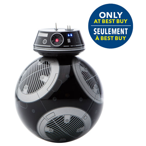Sphero Star Wars BB-9E App-Enabled Droid (VD01FCA) - Black/Grey