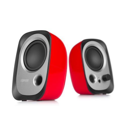 Edifier R12U USB Powered Stereo Computer Bookshelf Speakers - Red