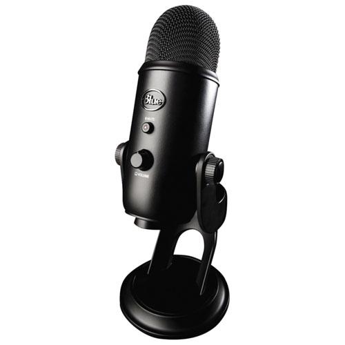 Blue Microphones Yeti USB Microphone - Black - Refurbished   Condenser Mics  - Best Buy Canada 7b9eecacec51