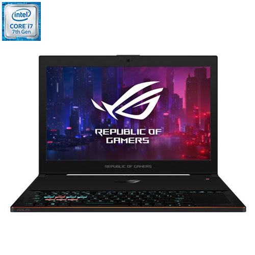 ROG Zephyrus GX501 de 15,6 po d'ASUS - Noir (Core i7-7700HQ d'Intel/DD 512 Go/RAM 16 Go/Win 10)