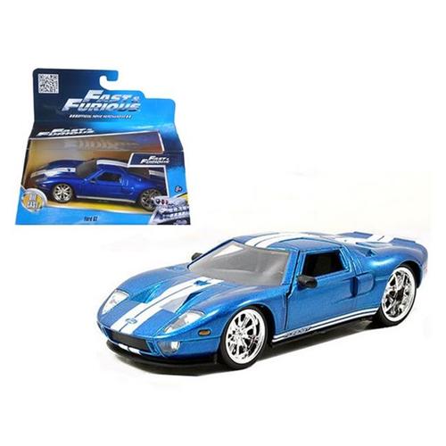 Jada  Ford Gt Blue Fast Furious Movie  Cast Model Car Model Building Best Buy Canada