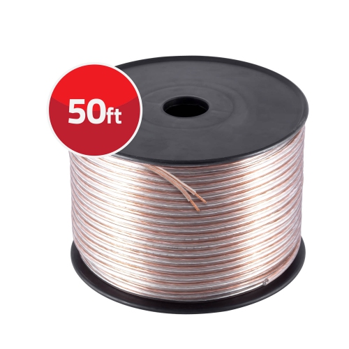 Best Speaker Wire >> 12 Gauge High Flex Precision Audio Cable Ultra Speaker Wire 50 Feet Roll