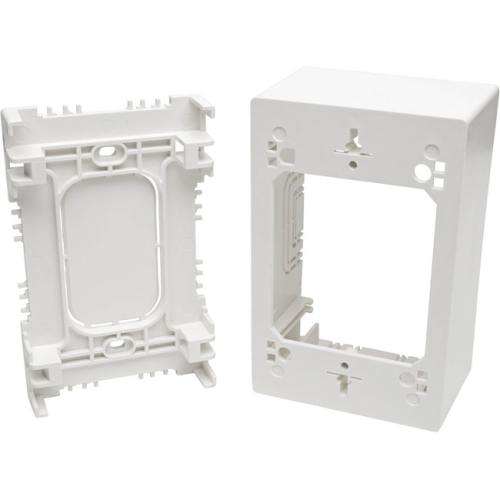 Tripp Lite Single-Gang Surface-Mount Junction Box, White