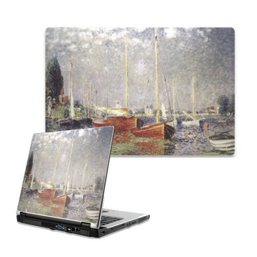 Monet: Red Boats Laptop Skin