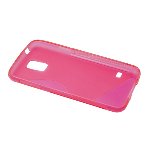 Esource Parts Fitted Hard Shell Case for Samsung Galaxy S5 S - Pink