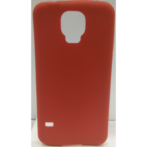 Samsung Galaxy S5 Soft Gell Ultra Protective Case - Red