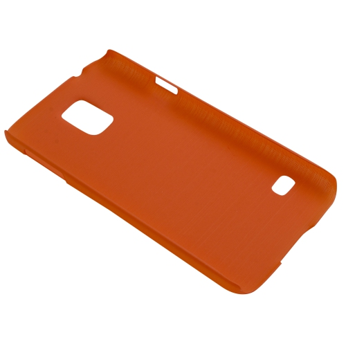 Esource Parts Fitted Hard Shell Case for Samsung Galaxy S5 - Orange