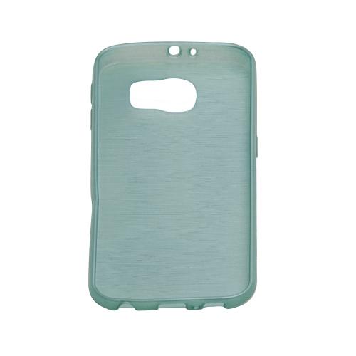 Samsung Galaxy S6 Smudged Design Case - Green