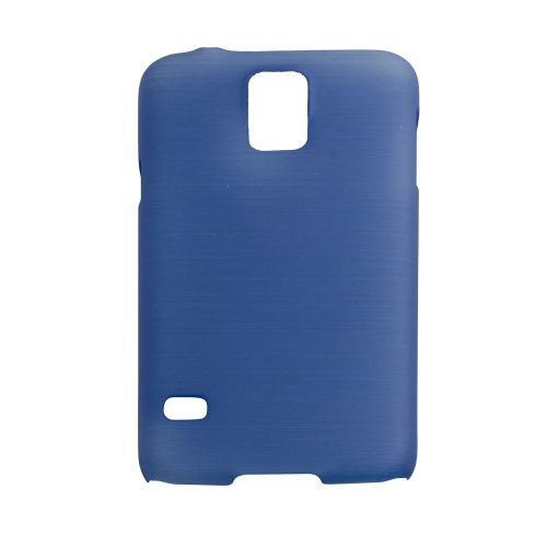Esource Parts Fitted Hard Shell Case for Samsung Galaxy S5 - Blue
