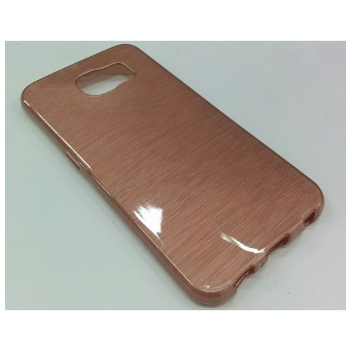 Esource Parts Fitted Hard Shell Case for Samsung Galaxy S6 - Rose Gold