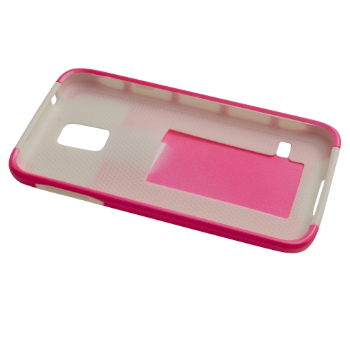 Esource Parts Fitted Hard Shell Case for Samsung Galaxy S5 - Pink