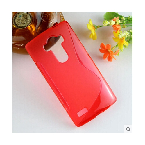 LG G4 TPU S - Shape Case - Red