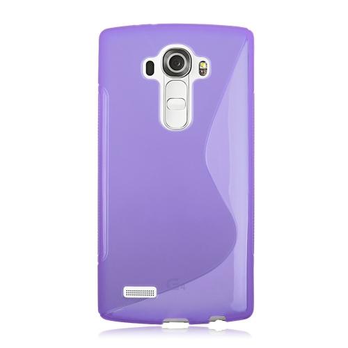 LG G4 TPU S - Shape Case - Purple
