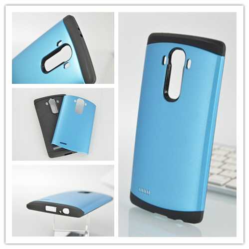 LG G4 Shockproof Hybrid Case - Blue