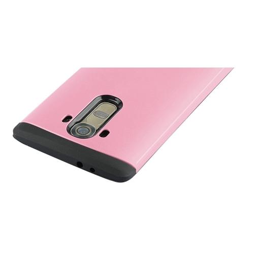 LG G4 Shockproof Hybrid Case - Pink