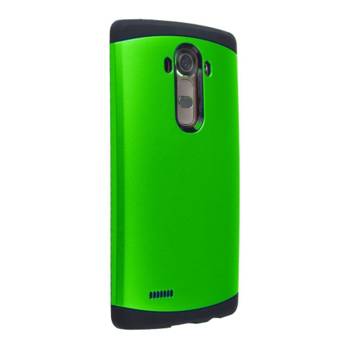 LG G4 Shockproof Hybrid Case - Green