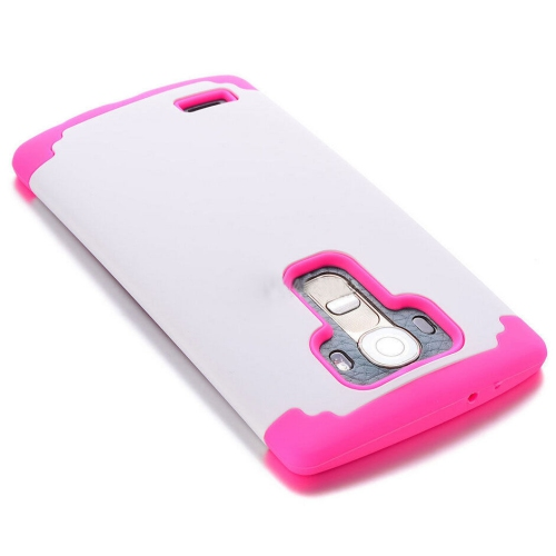 LG G4 Slim Hybrid Impact Armour Case - White