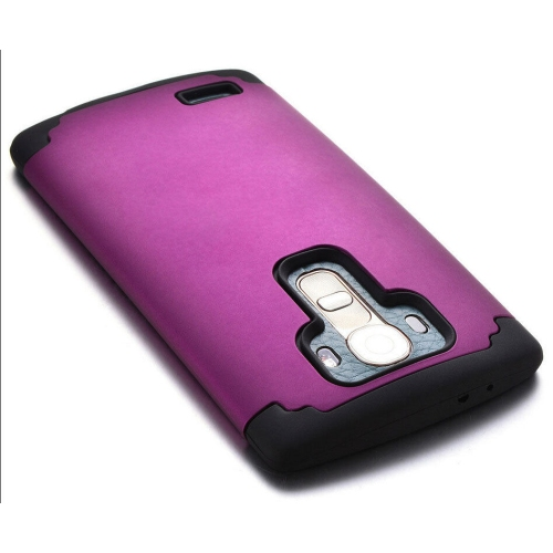 LG G4 Slim Hybrid Impact Armour Case - Purple