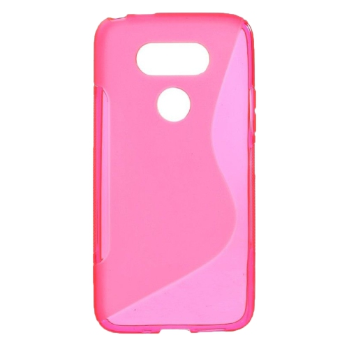 Esource Parts Fitted Soft Shell Case for LG G5 - Pink