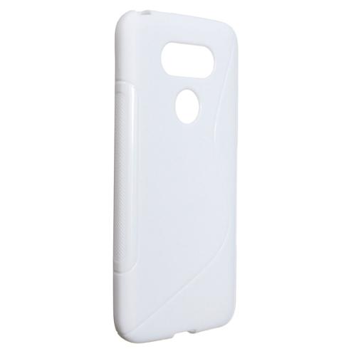 LG G5 TPU S - Shape Case - White