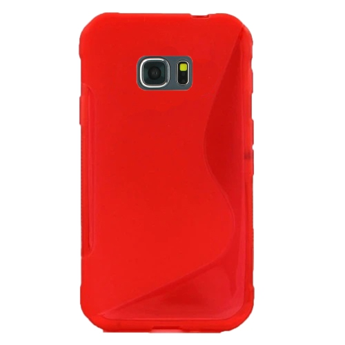 Samsung Galaxy Note 5 TPU S - Shape Case - Red