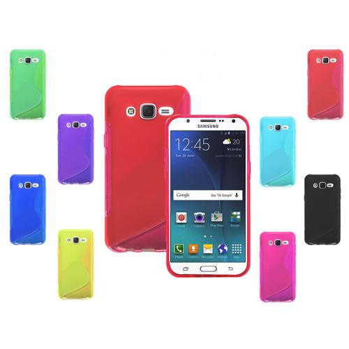 Samsung Galaxy Note 5 TPU S - Shape Case - Blue