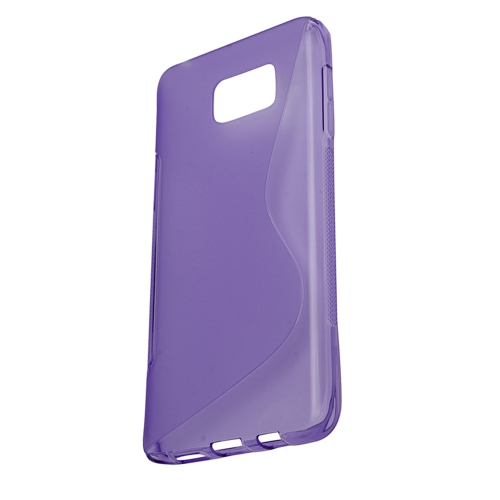Samsung Galaxy Note 5 TPU S - Shape Case - Purple