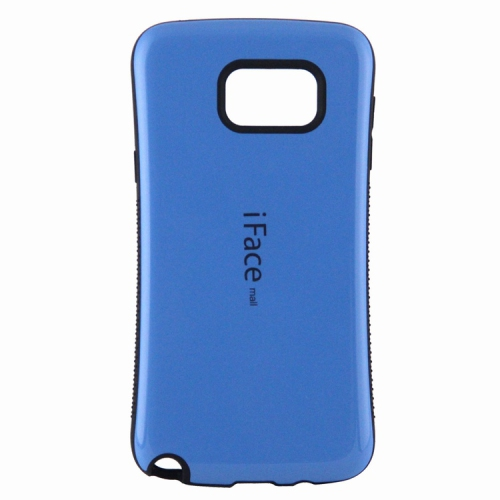 Esource Parts Fitted Hard Shell Case for Samsung Galaxy Note 5 - Blue