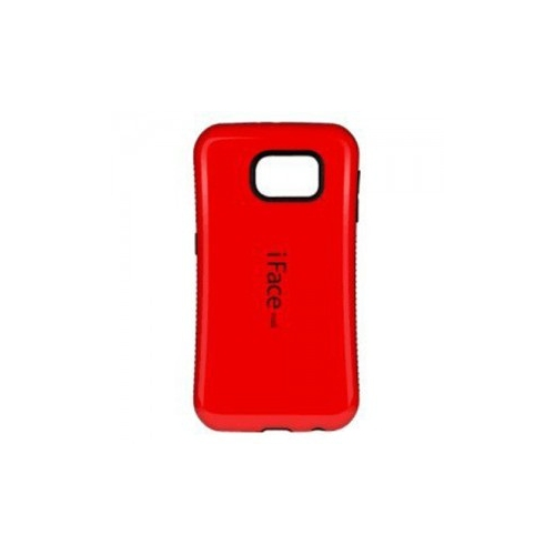Esource Parts Fitted Hard Shell Case for Samsung Galaxy S7 - Red