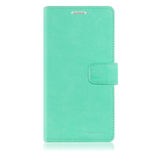 Samsung Galaxy S7 Edge Deluxe Wallet Style Case - Mint Green