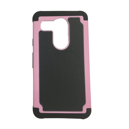 LG Nexus 5X Hybrid Shock Proof Rugged Case - Pink