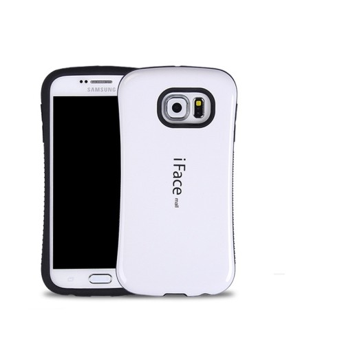Samsung Galaxy S6 Edge iFace Anti-Shock Protection Case - White