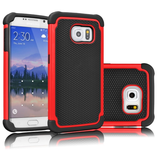 Esource Parts Fitted Hard Shell Case for Samsung Galaxy Note 5 - Red