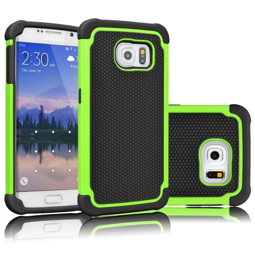 Esource Parts Fitted Hard Shell Case for Samsung Galaxy Note 5 - Lime Green