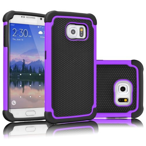 Samsung Galaxy Note 5 Hybrid Rubber Hard Cover - Purple