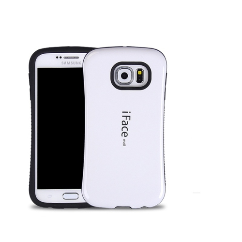 Esource Parts Fitted Hard Shell Case for Samsung Galaxy S7 Edge - White