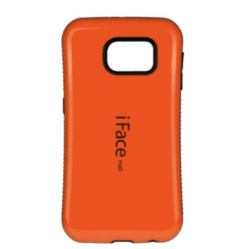 Samsung Galaxy S7 Edge iFace Anti-Shock Protection Case - Orange