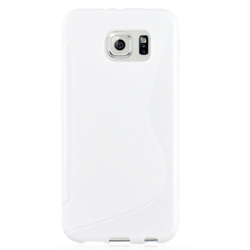 Samsung Galaxy S7 Edge TPU S - Shape Case - White